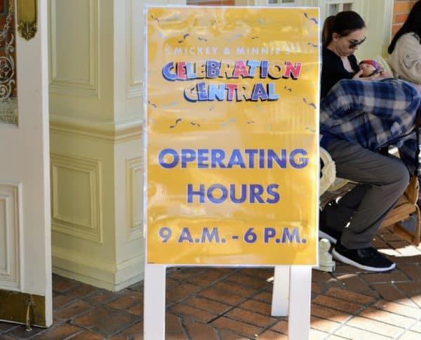 Celebration Central hours