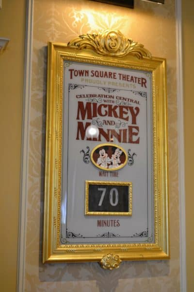 Wait times for meeting Mickey and Minnie