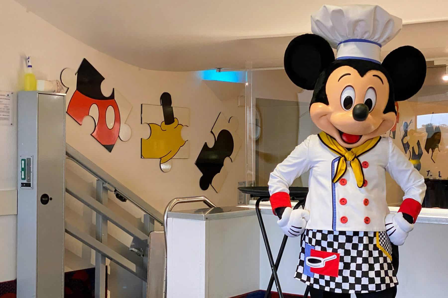 Mickey at Chef Mickey's