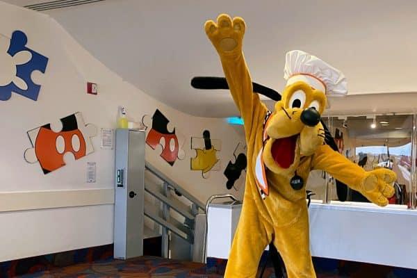 Pluto Chef Mickey's