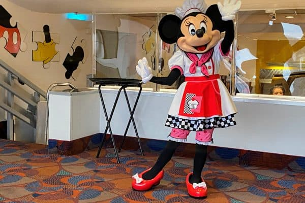 Minnie Mouse at Chef Mickey's