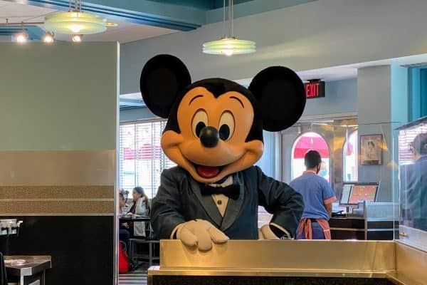 Mickey at Hollywood & Vine