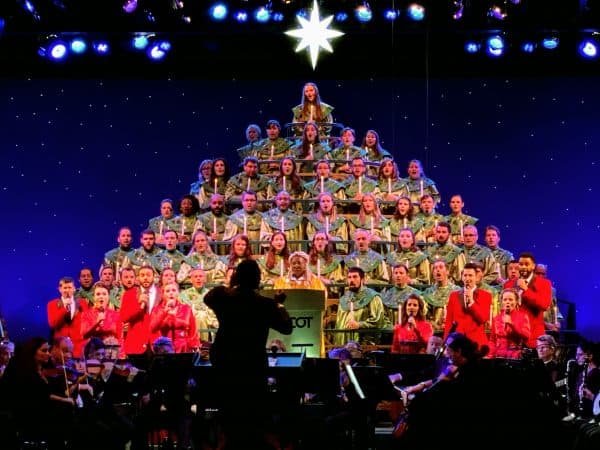 Candlelight Processional stage
