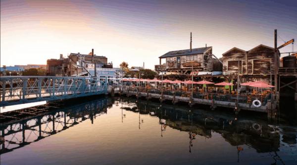 Pacific Wharf Cafe in Disney California Adventure