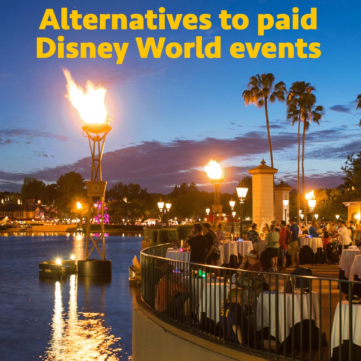 paid event alternatives