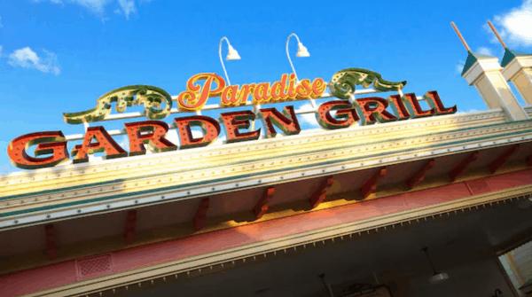 Paradise Garden Grill in DCA