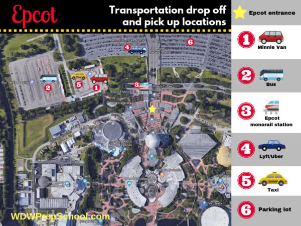 Epcot transportation options
