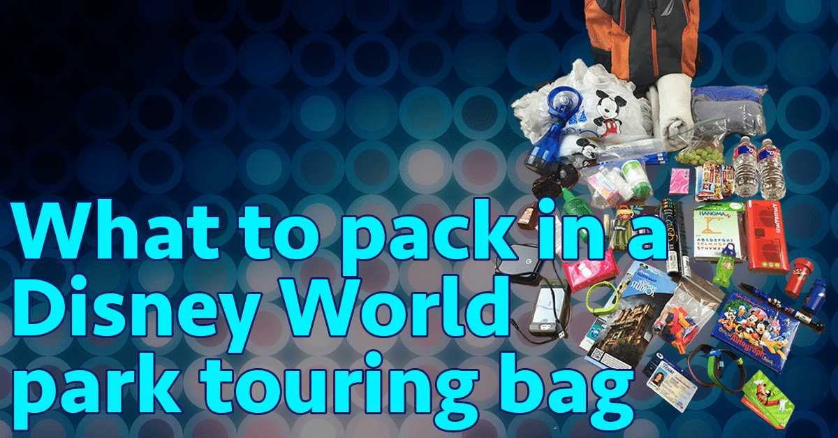 694a8f635763 What to pack in your Disney World park bag (no minimalists here!)