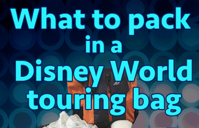 parktouringbagsquare 390x250 - What to pack in your Disney World park bag (no minimalists here!)