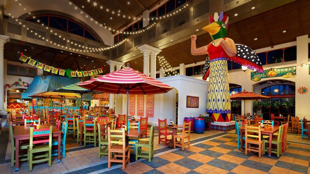Coronado Springs Resort - El Mercado de Coronado (dinner)