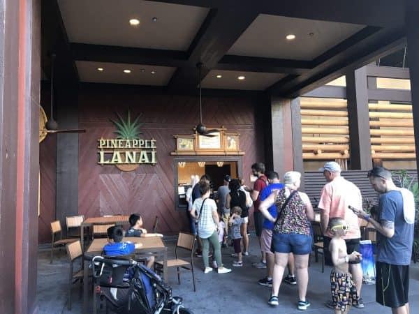 Pineapple Lanai at Disney's Polynesian