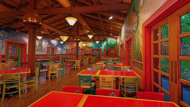 Animal Kingdom Dining - Pizzafari (lunch)