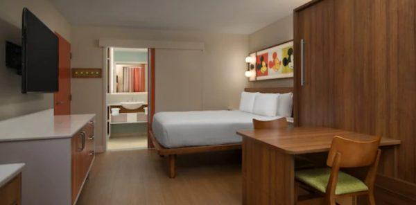 Standard room at Disney's Pop Century Resort