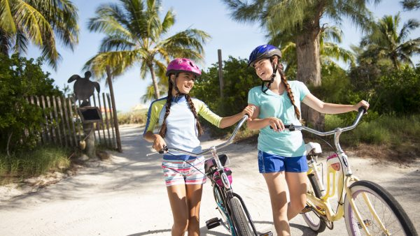 Port Adventures bike rentals on Castaway Cay