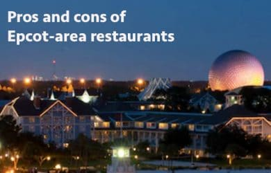 Epcot area restaurants
