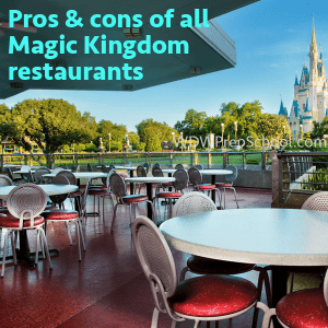 Pros And Cons Of All Magic Kingdom Restaurants - Magic kingdom table service restaurants