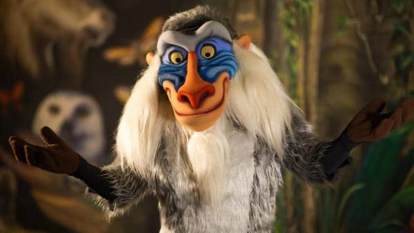 rafiki 600x338 - Complete guide to Magic Kingdom rides and attractions