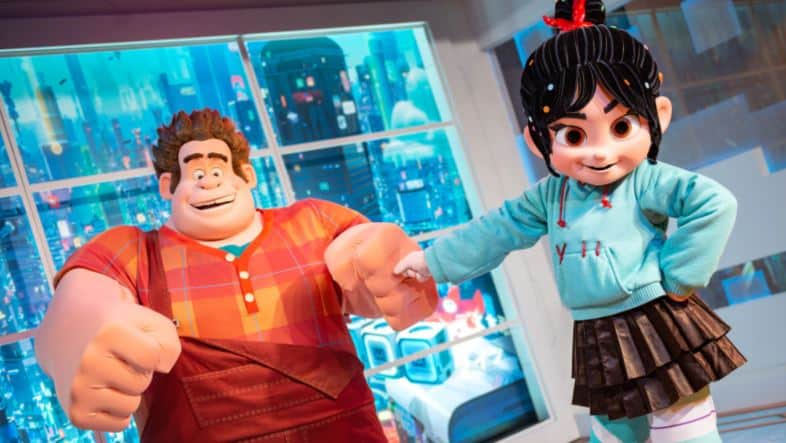 Ralph and Vanellope (character meet) – Temporarily Unavailable