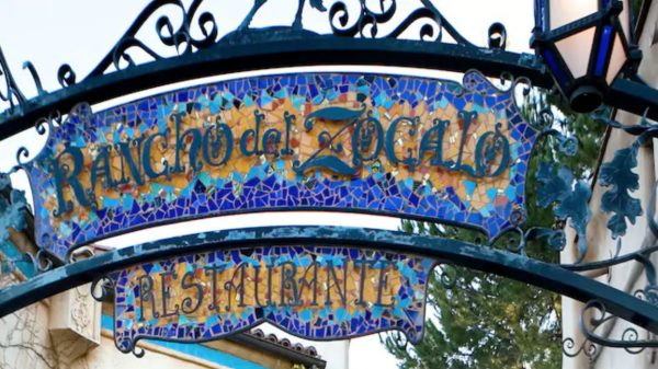 Rancho del Zocalo Restaurante in Disneyland