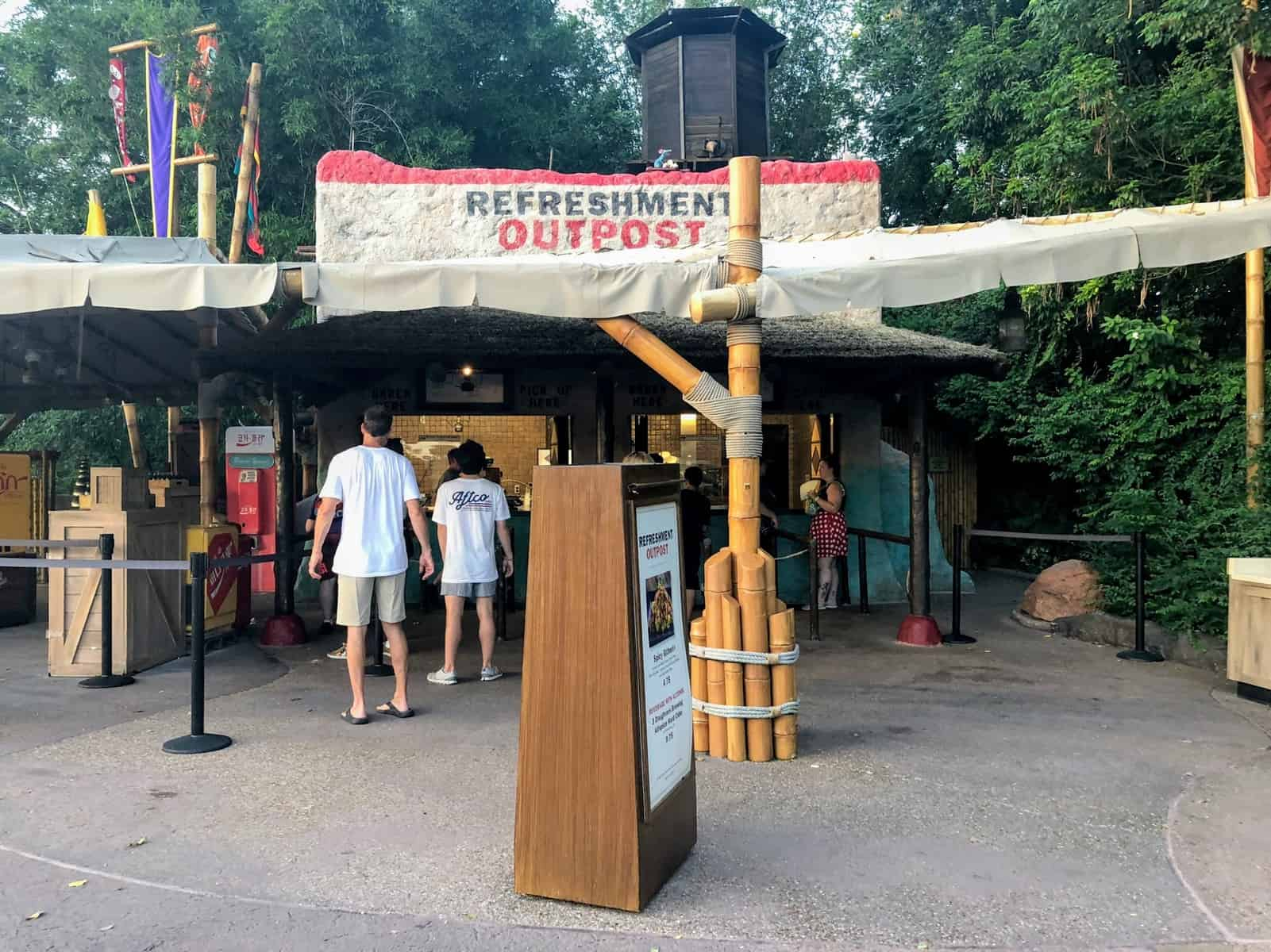 Refreshment Outpost Epcot Food and Wine Menu