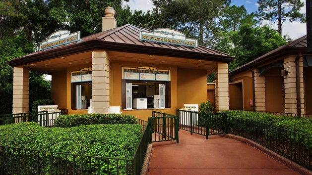Epcot Dining - Refreshment Port