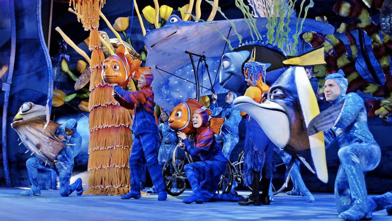 finding nemo the musical animal kingdom