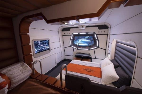 Star Wars: Galactic Starcruiser room
