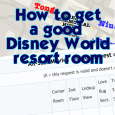 How to get a good Disney World resort room view