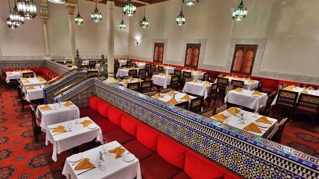 Epcot Dining - Restaurant Marrakesh (lunch)