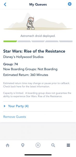 rise of the resistance virtual queue