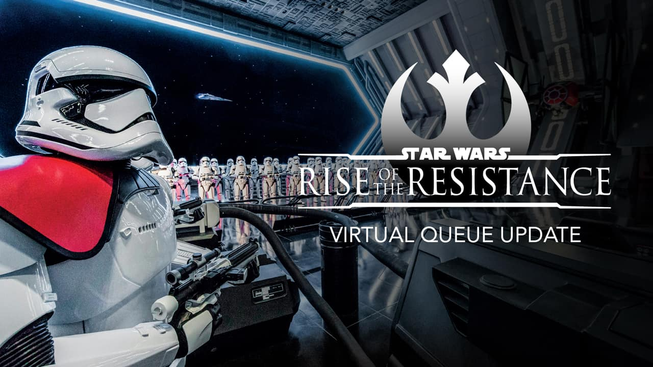 Rise of the Resistance virtual queue update
