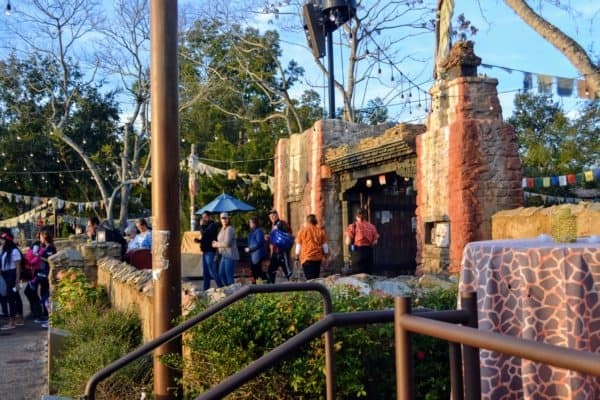 FastPass entrance for Rivers of Light