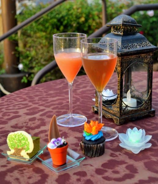 food from rivers of light dessert party