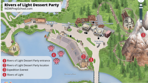 Rivers of Light Dessert Party map (1)