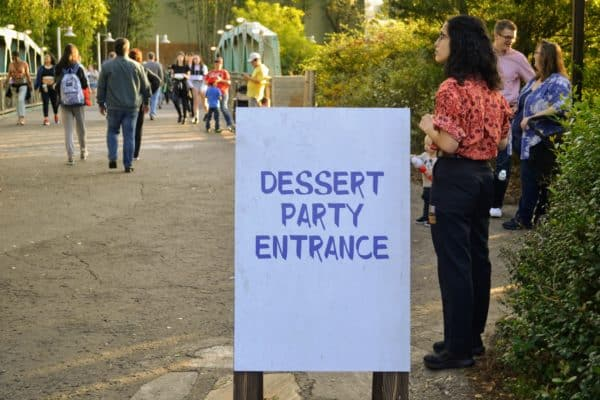 Rivers of Light Dessert party location