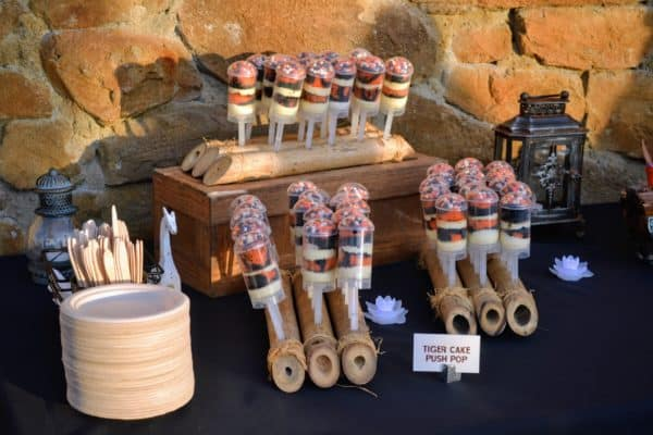 Food from the Rivers of Light dessert party