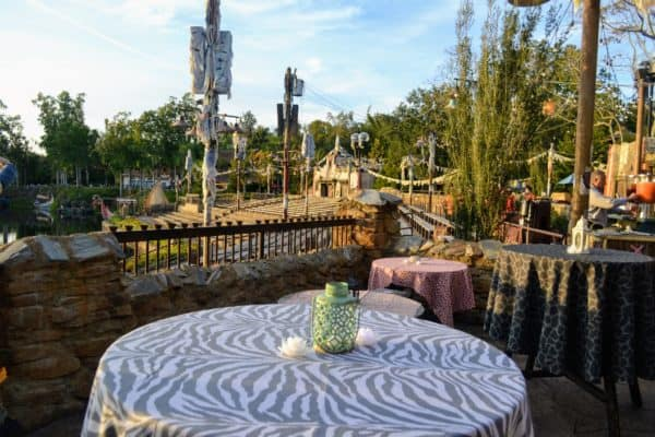 Rivers of Light Dessert party view
