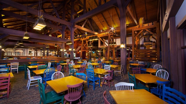 Port Orleans – Riverside - Riverside Mill Food Court (breakfast)