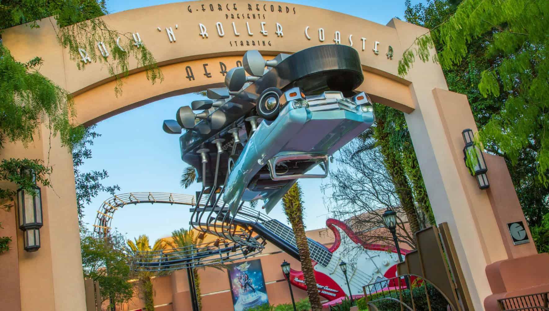 rock n roller coaster hollywood studios