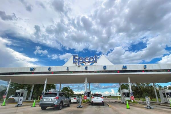 Epcot parking plaza