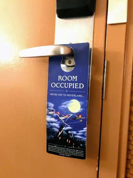 Room Occupied Disney World door hanger