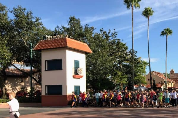Rope drop at Hollywood Studios