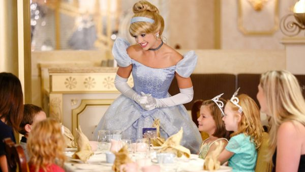 Royal Court Tea on Disney Wonder