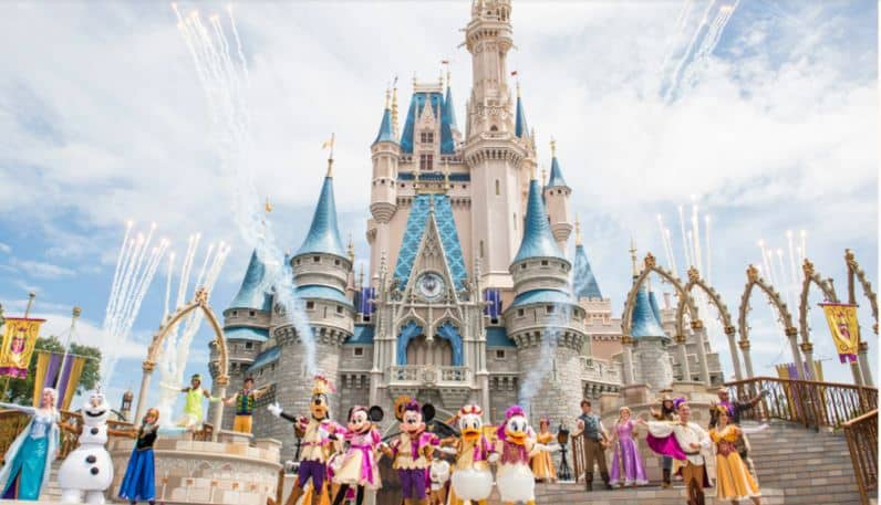Mickey's Royal Friendship Faire (castle show) – Temporarily Unavailable