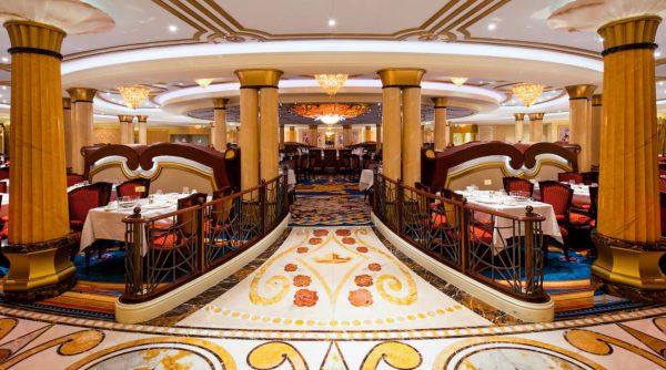 Royal Palace on Disney Cruise Line