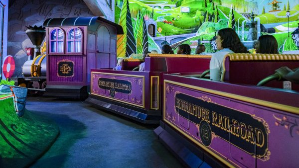 runaway railway ride vehicle