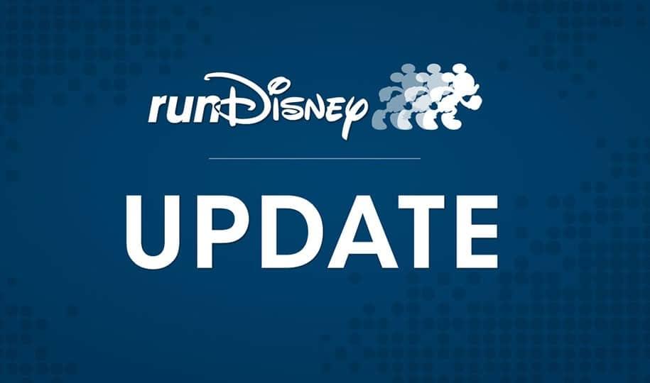runDisney 2021 race update