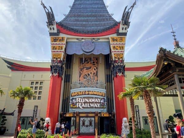 runaway railway at hollywood studios