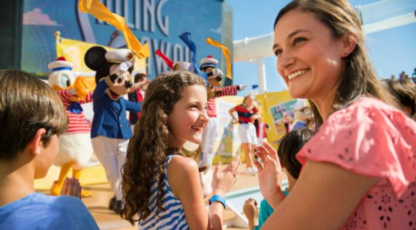 Sailing Away Deck Party on Disney Cruise Line