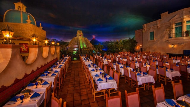 Epcot Dining - San Angel Inn Restaurante (lunch)